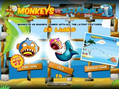 Monkeys VS Sharks игровые автоматы avtomatyigrovye77.com World Match 1/5